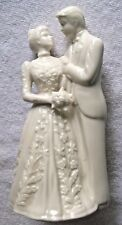 Lenox Ivory China Wedding Promises Collection Bride Groom Cake Topper Figurine