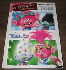 Double Feature > Trolls & Trolls Holiday (DVD, 2018) .. sealed new