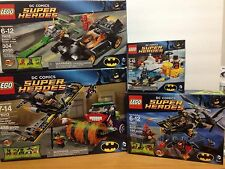 Lego DC Comic Batman 76010, 76011, 76012, 76013 set of 4 RETIRED