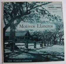 LOS TORREALBEROS - Motivos Llaneros - LP - BL - QBL-1202 - 1957 - Venezuela USA