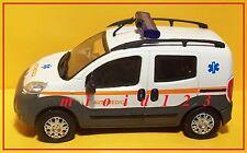 1/43 - FIAT FIORINO AUTO MEDICA - Die-cast Motorama