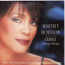 CD CARTONNE CARDSLEEVE 2T WITNEY HOUSTON EXHALE (SHOOP SHOOP) 1995 TBE