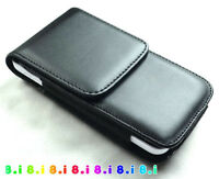Leather Pocket Case for Samsung Galaxy S5 I9600 Cover Pouch Flip Case Belt Clip