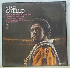 McCracken/Jones/Fischer-Dieskau/Barbirolli VERDI Otello - Angel SCL-3742 SEALED