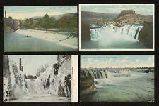 USA WATERFALLS c1905-20 VINTAGE PPCs...6 CARDS