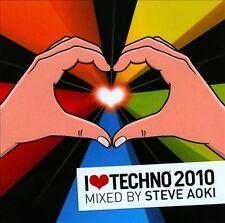 STEVE AOKI (DJ) - I LOVE TECHNO 2010 USED - VERY GOOD CD