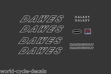 Dawes Galaxy White Decals-Transfers-Stickers #3