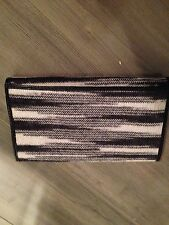MISSONI LEATHER & WOOL WALLET NEW