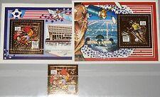 GUINEA 1993 1463 Block 485-86 A 1237A Soccer World Cup 1994 USA Fußball WM MNH