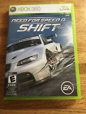 Need for Speed: Shift (Microsoft Xbox 360, 2009) Video Game