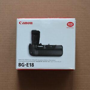 Canon BG-E18 Battery Grip Genuine Original for Canon EOS 750/760D/Rebel T6i/T6s