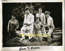 "Willis H. O'Brien Cast of Son Of Kong 1933 Original 8x10"" Photo #X17"