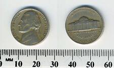 "USA 1947 -  5 Cents Jefferson Nickel Coin - ""Monticello"""