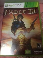 Brand New Sealed Fable 3 III bonus DLC included Xbox 360, 2010 MINT