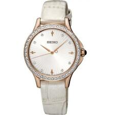 Orologio Seiko Donna Classic Modern Acciaio Crystals SRZ490P1 ROSE PINK