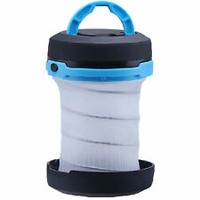 Outdoor Ultra-light Collapsible Pop Up LED Camping Travel Lantern Flashlight
