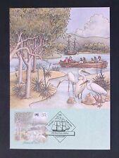 AUSTRALIA MK 1988 FIRST FLEET ARRIVAL SCHIFFE VÖGEL MAXIMUM CARD MC CM d1760