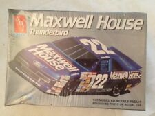 Amt Maxwell House Thunderbird #22 Sterling Marlin Nascar Model Kit #6457 Sealed