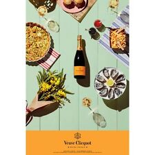 Veuve Clicquot Picnic Poster 24 By 36
