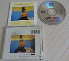 RARE CD ALBUM PRISONNIER DE L'INUTILE GERARD MANSET 1986