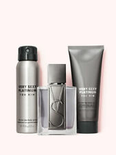 Men's VICTORIA'S SECRET Luxe Cologne Fragrance Gift Set - Very Sexy Platinum