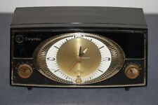 Bulova Clock Tube Radio- Clock works Very rare Bulova Watch Company
