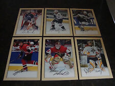 2005-06 Beehive Hockey---Lot Of 6---All 5x7---No Doubles---See List