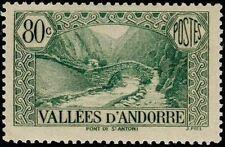 "ANDORRE FRANCAIS STAMP N° 71 "" PONT SAINT ANTOINE LA MASSANA 80 C"" NEUF xx LUXE"