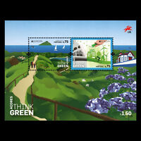 "Azores 2016 - EUROPA Stamps ""Think Green"" s/s - MNH"
