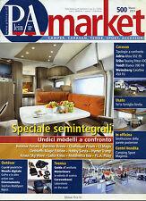 PleinAIR market N°500 /MAR/2014 Camper, Caravan,Tende * Speciale semintegrali *