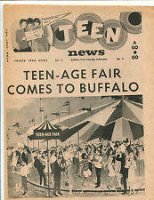 original USA Pop / Teen Magazine: Teen News Vol.2 No.3  (1966)