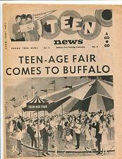 original USA Pop / Teen Magazine: Teen News Vol.2 No.3  (1966)