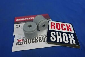 New 2 pack RockShox Bottomless Tokens 35mm Gray Solo Air Pike Boxxer Lyrik Yari