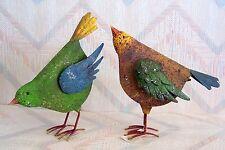Bird Chicken Set Regal Art Rustic Bird Chicken Decor