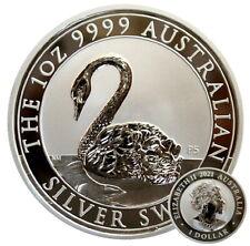 ++ Schwan / Silver Swan 2021 - Perth Mint - 1oz Silber / Ag  ++
