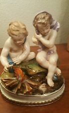 Lladro Cherubs (pre lladro)  tittled Winter