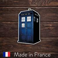 Autocollant Sticker Doctor Dr Who Tardis, Laptop Mur Smartphone, 9cm LSD007