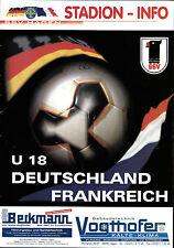 U18-Länderspiel 10.03.2006 Deutschland - Frankreich in Hagen
