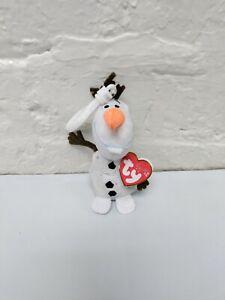 TY Original OLAF Clip 5 inch Stuffed Animal Toy New