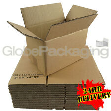 """25 x 9x6x6"""" DOUBLE WALL PACKAGING POSTAL PACKING MAILING GIFT BOXES 9""""x6""""x6"""" DW"""