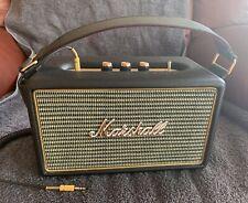 Marshall Kilburn Portable Bluetooth Speaker Black