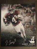 Jerry Jeudy Autograph 8x10 Signed Photo w/ JSA COA Alabama Crimson Tide Broncos
