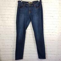 Old Navy Womens Sweetheart Jeans 12 Long Dark Medium Wash Stretch Straight Leg