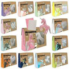 Decopatch Paper Mache Kits, Bunny, Llama, Unicorn, Horse, Dog, Cat  **And More**