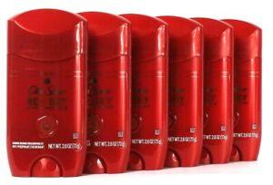 6 Count Old Spice 2.6 Oz Red Sky Notes Of Blood Orange Antiperspirant Deodorant