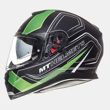 Casco MT Thunder 3 SV Trace negro mate/verde talla M
