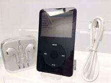 Nuevo! Apple iPod Video Classic 5th Generación Negro/Plateado (30 GB) - Impecable