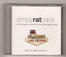 (HX696) Simply Rat Pack, disc 3, Sammy Davis Jr - 2006 CD