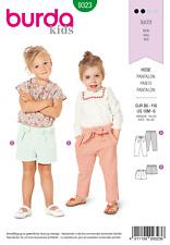 Sewing Pattern Burda 9323 Child Short/Trouser