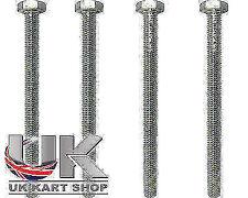 TonyKart / OTK Hex Head M10 x 130mm Rear Bumper Bolt x 4 UK KART STORE